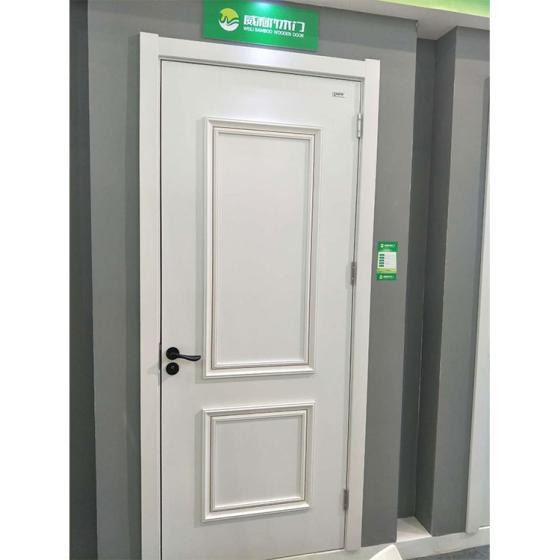 PVC-Film-Surface-Swing-Wpc-Waterproof-Toilet-Door